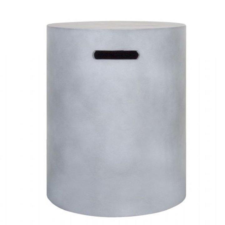 La Hacienda Orlando Gas Bottle Cover - Cement Grey