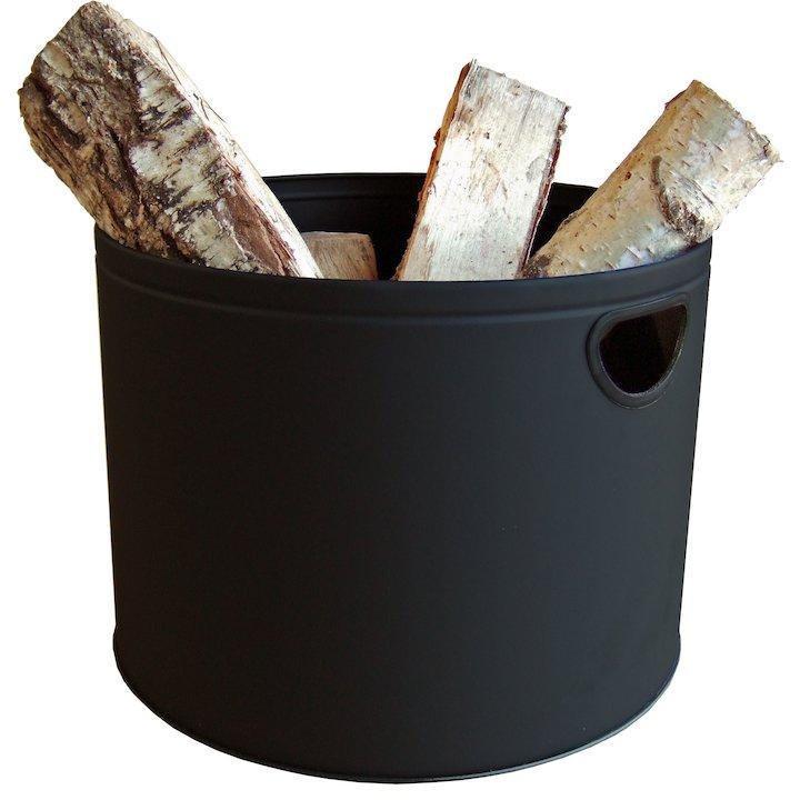 Aduro Firewood Log Tub - Black