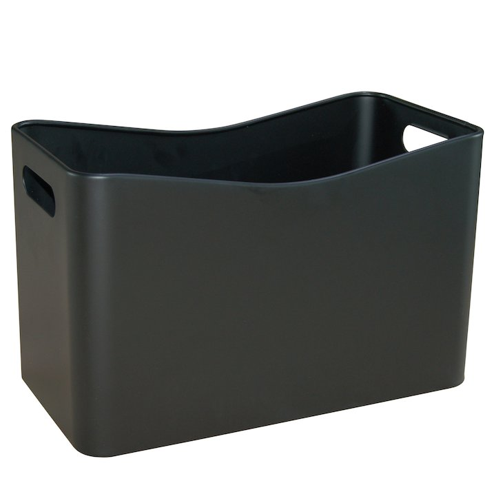 Aduro Proline Metal Briquette/Log Tub - Black
