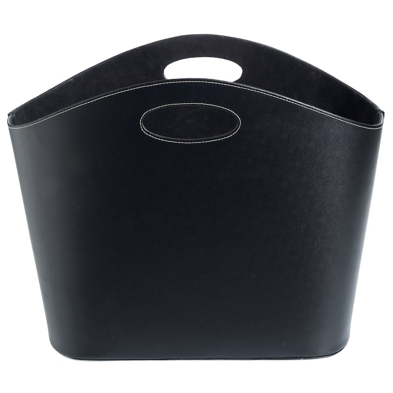 Jotul Recycled Rubber Log Tub - Black