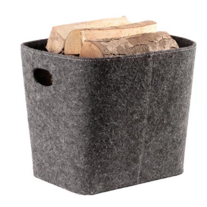 Termatech Tapered Log Basket - Grey