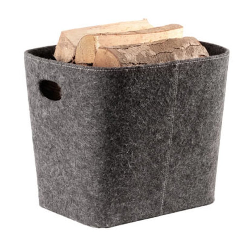 Termatech Tapered Log Basket - Grey