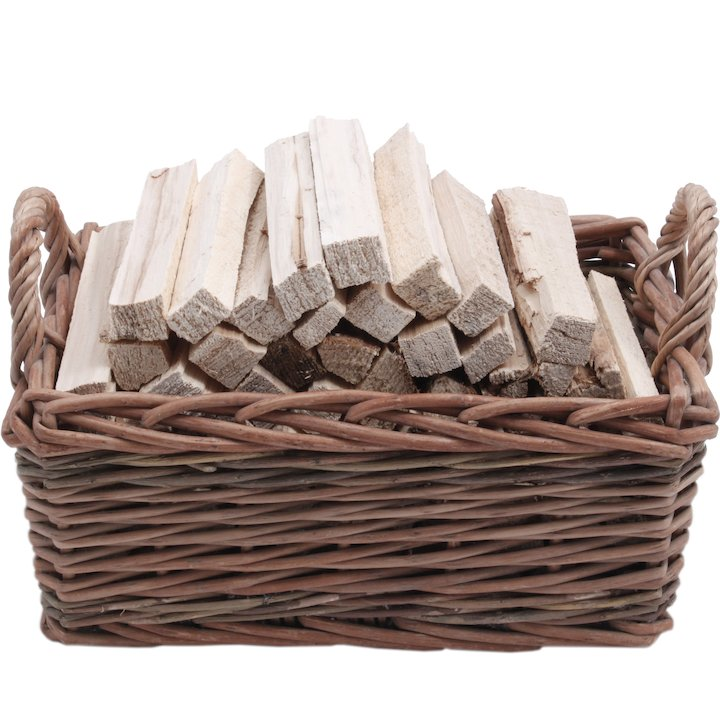 Calfire CW Kindling Wood Basket - Brown