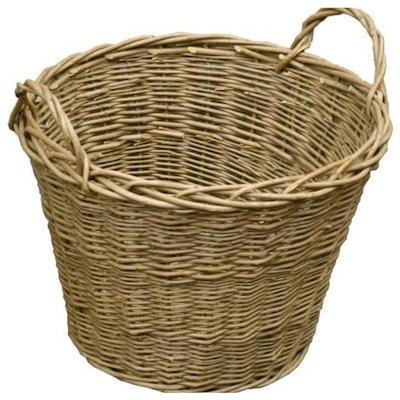 Calfire Wild Willow Log Basket Brown Standard
