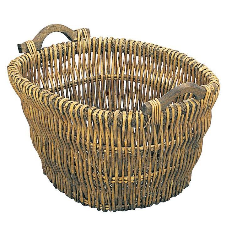 Manor Drayton Log Basket - Brown