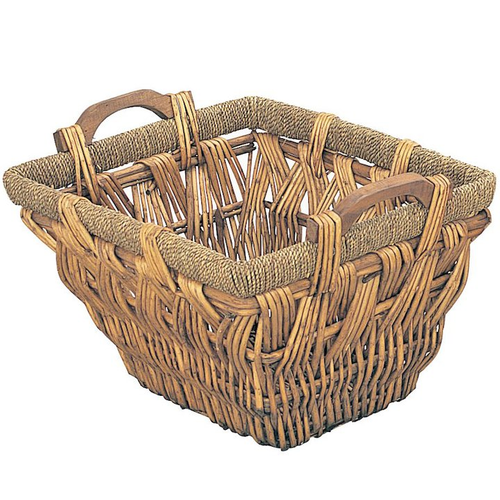 Manor Shepton Log Basket - Brown