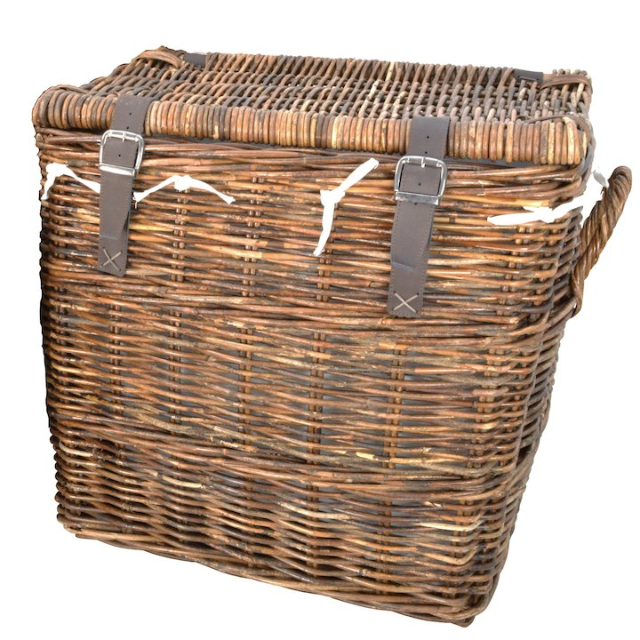 Manor Washington Large Log Basket - Brown