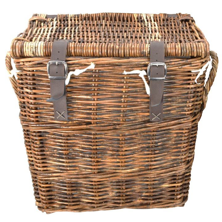 Manor Washington Small Log Basket - Brown