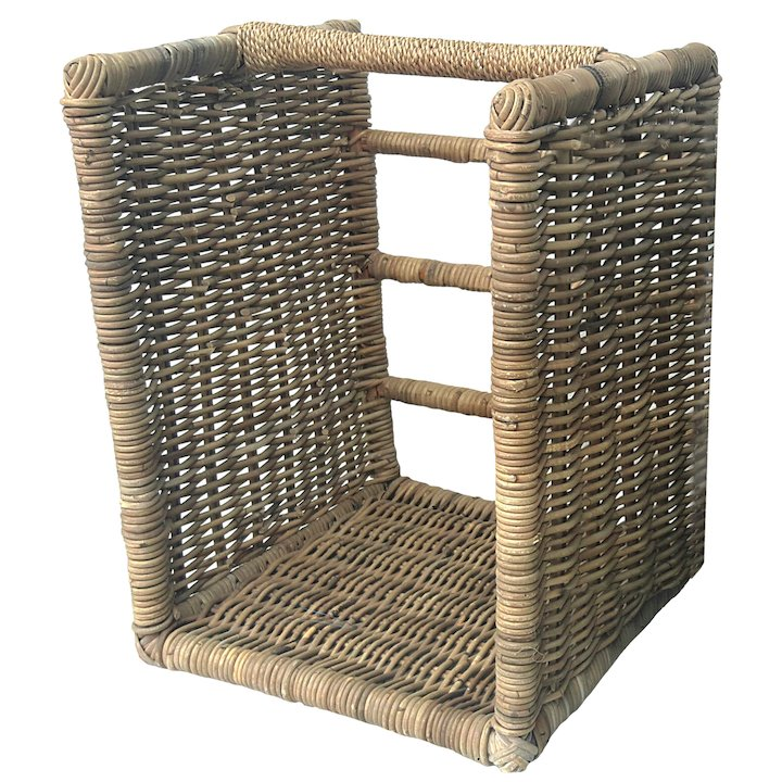 Manor Beaumont Large Log Basket - Brown