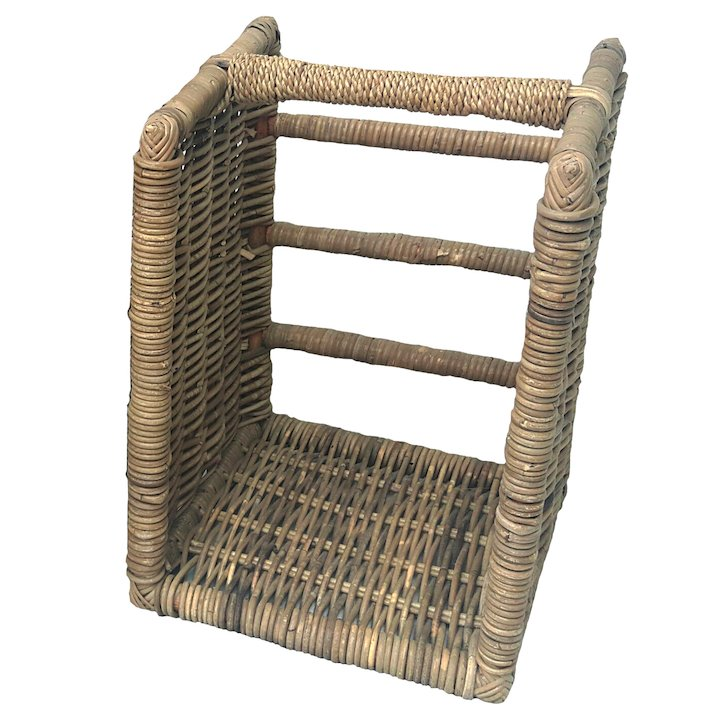 Manor Beaumont Small Log Basket - Brown