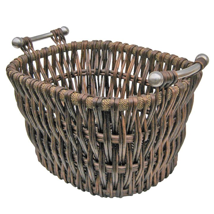 Manor Bampton Log Basket - Brown