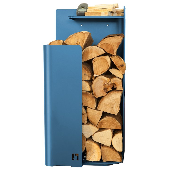 Arada Tower Log Holder - Atlantic