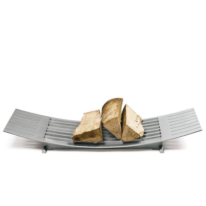 Conmoto Number 3 Log Holder - Stainless Steel