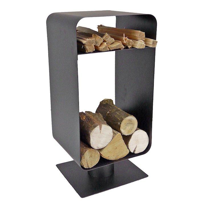 Manor Nordic Log Holder - Black