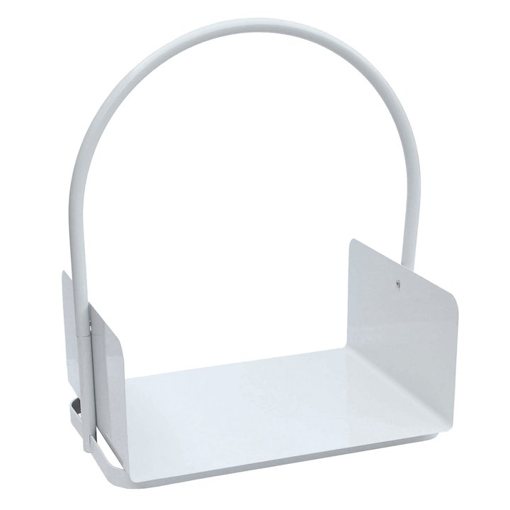 Manor Lucid Tray Log Holder - White