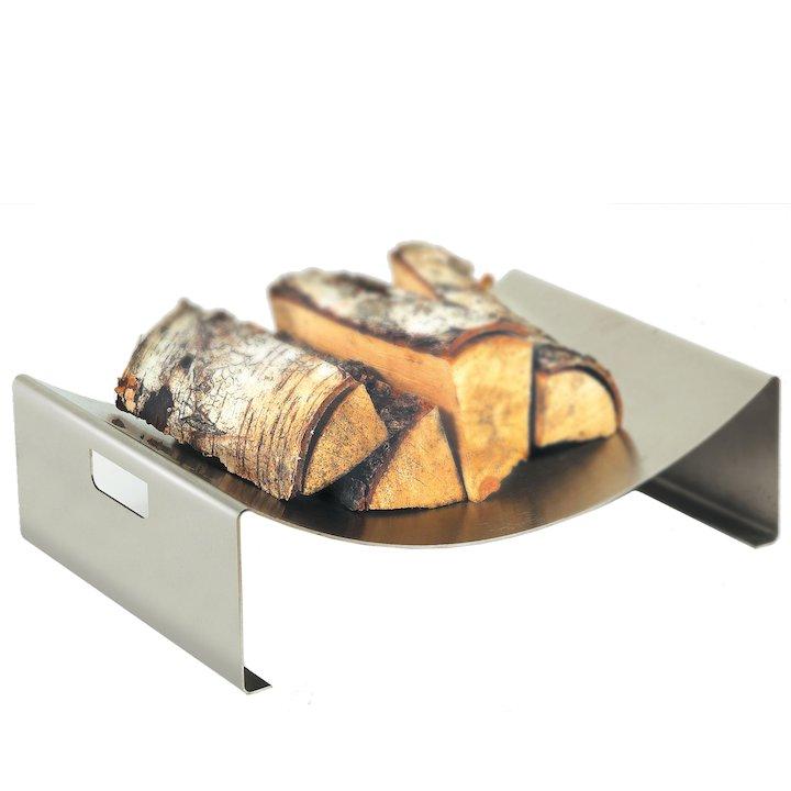 Rais Firewood Tray Log Holder - Stainless Steel