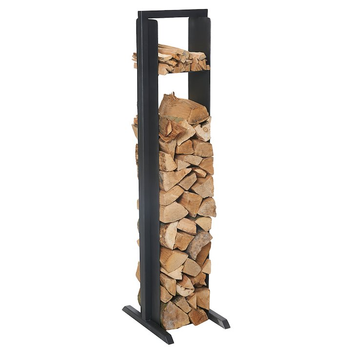Sirius Lido Large Log Holder - Black