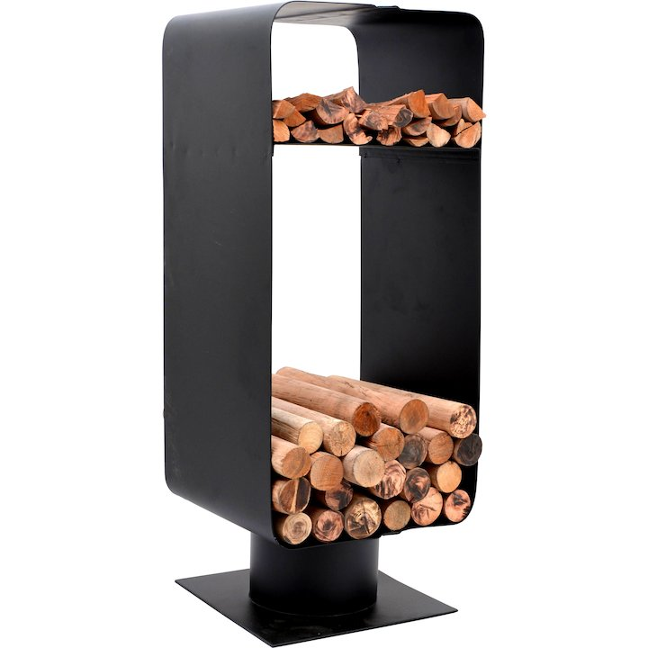 Calfire Malmo Log Holder - Black
