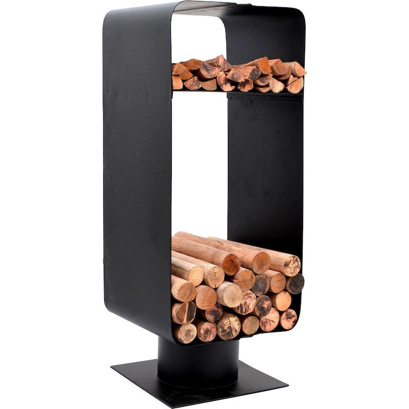 Calfire Malmo Log Holder - Black