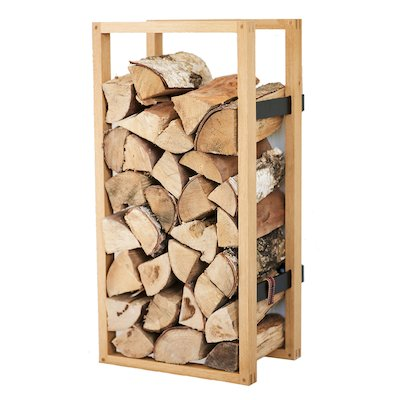 Rais Woodframe Wall Mounted Log Holder