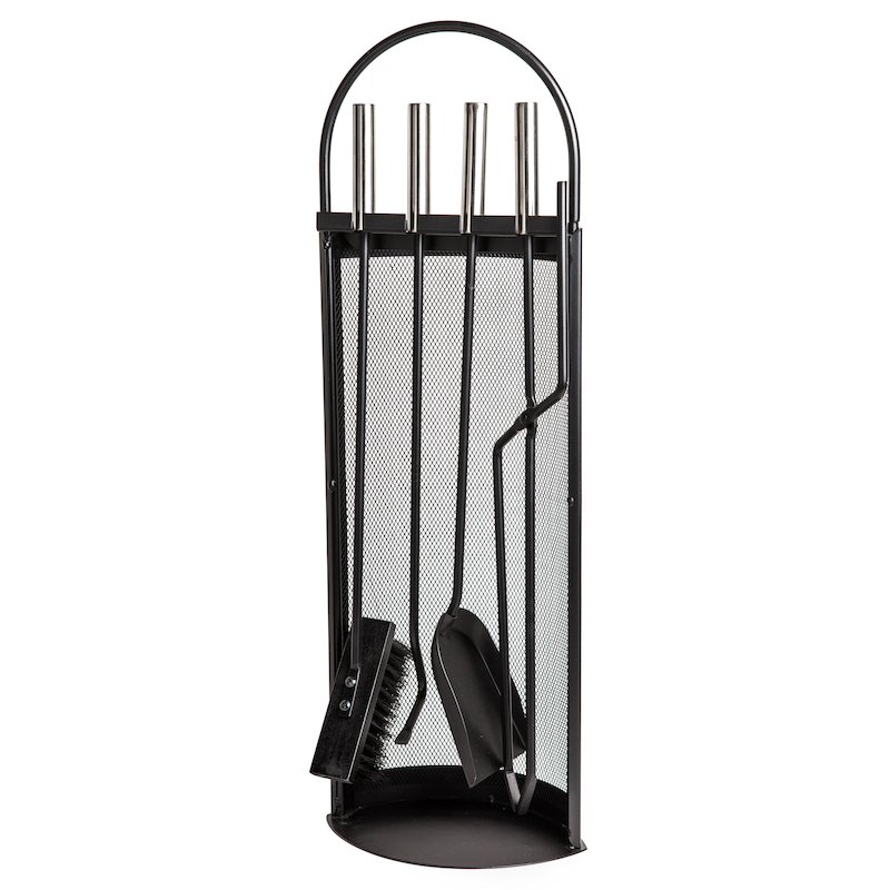 Aduro Noir Fire Tool Companion Set - Black
