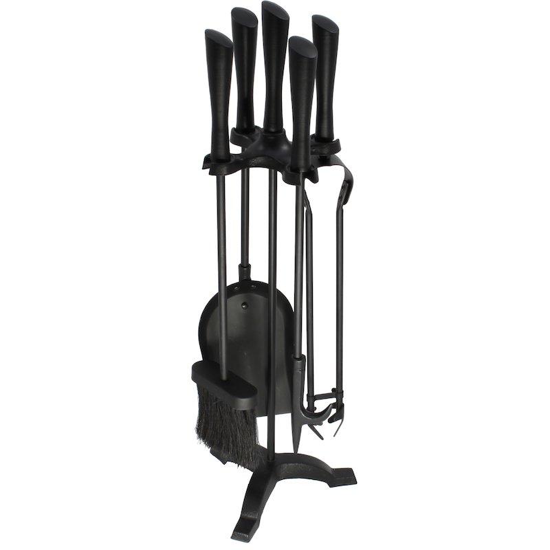 Calfire Hordley Fire Tool Companion Set - Black