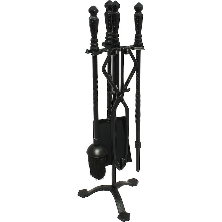 Calfire Cast Fire Tool Companion Set - Black