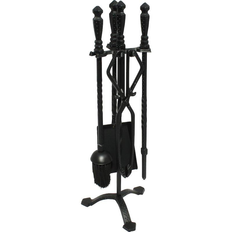 Calfire Cast Fire Tool Companion Set - Black