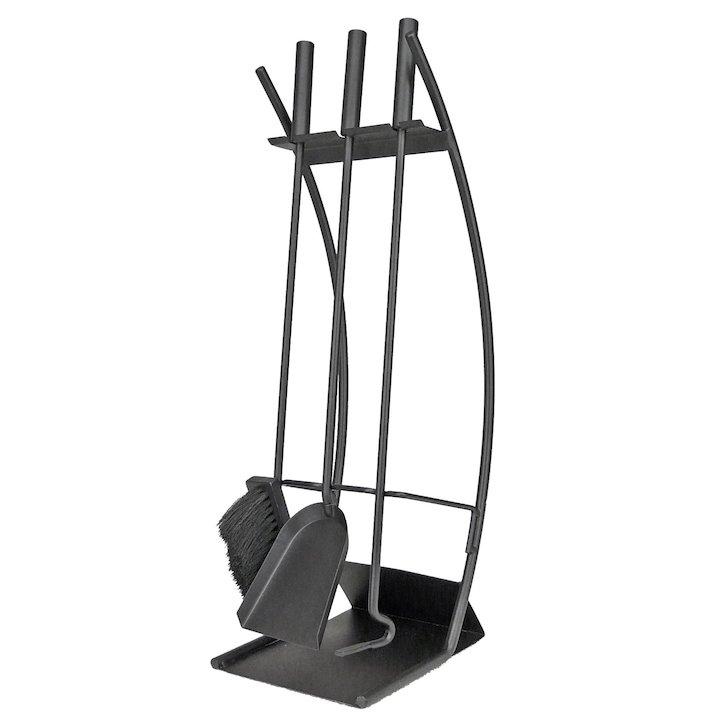 Manor Traverse Fire Tool Companion Set - Black