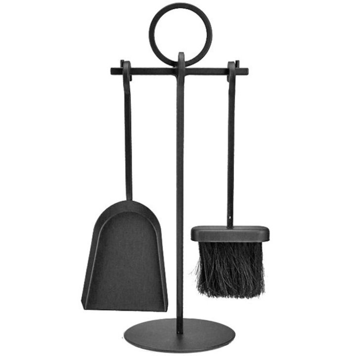 Manor Petite Fire Tool Companion Set - Black