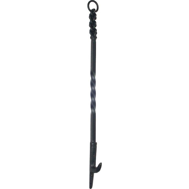 Calfire Rope Twist Handle Log Roller Fire Tool - Black
