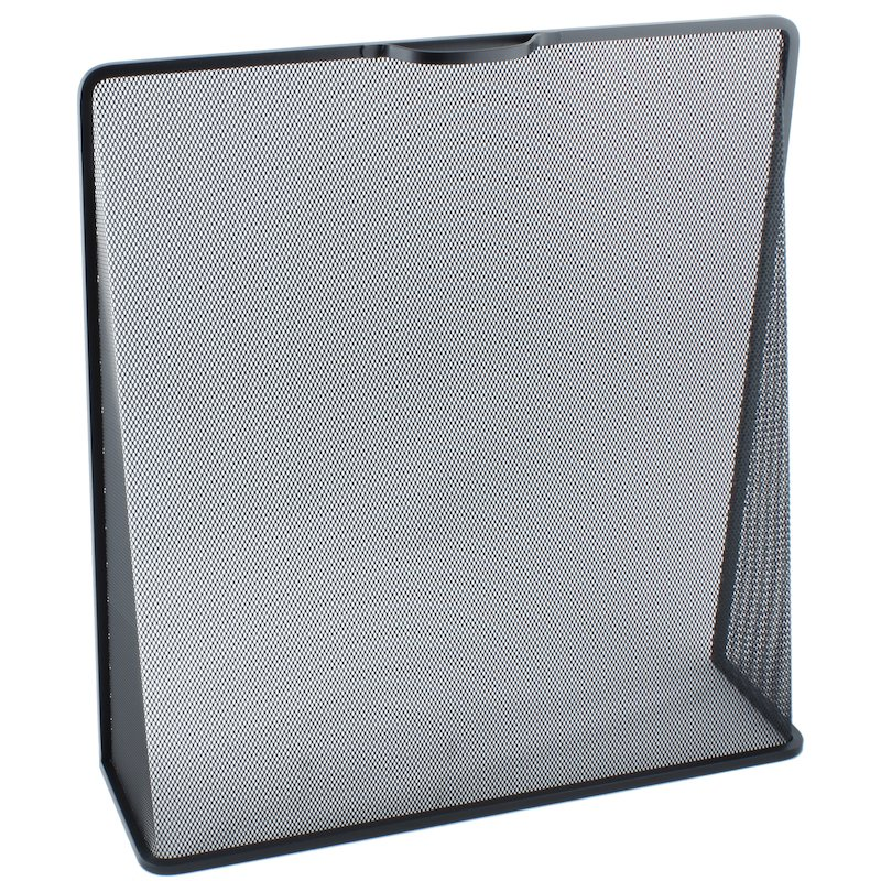 Calfire Noble Wedge Fire Screen - Black