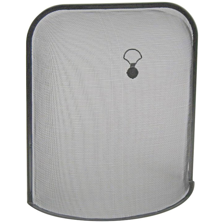 Manor Ascot Small Sparkguard Fire Screen - Black