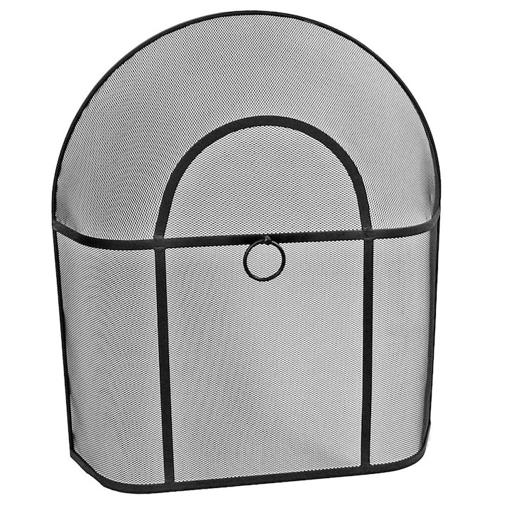 Manor Cotswold Small Sparkguard Fire Screen - Black