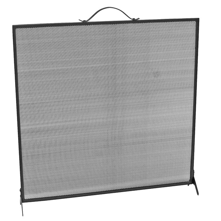 Manor Single Fire Screen - Black