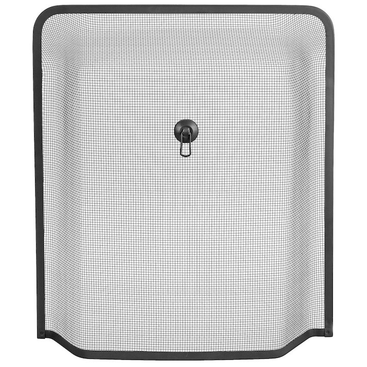 Manor Windsor Medium Sparkguard Fire Screen - Black