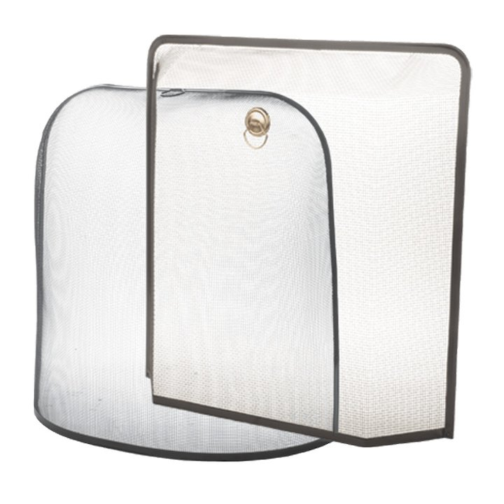 Stovax Domed Sparkguard Fire Screen - Black