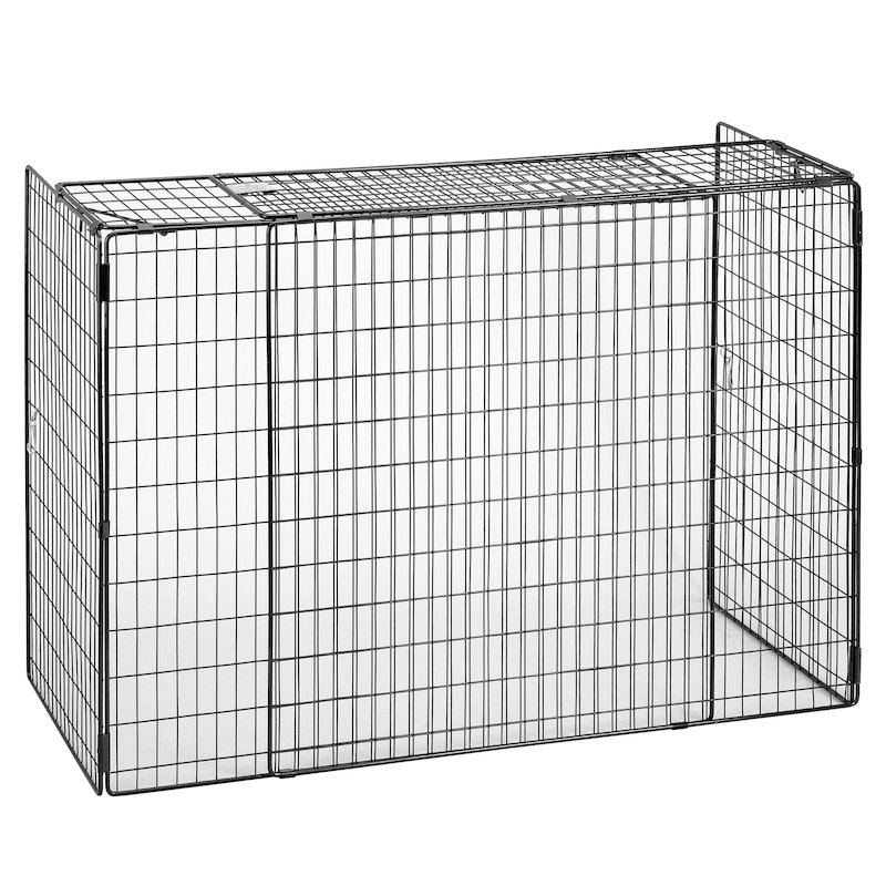 Manor Nursery Mesh Extending Baby Guard - Black