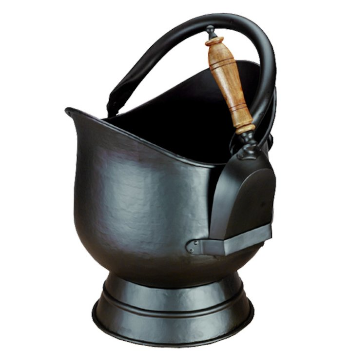 Calfire Hadley Large Coal Bucket - Black