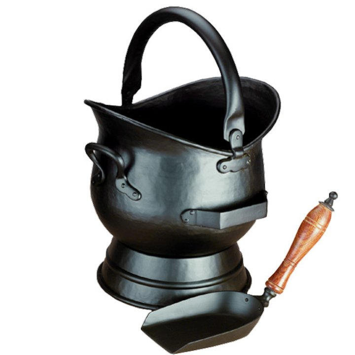 Calfire Hadley Medium Coal Bucket - Black