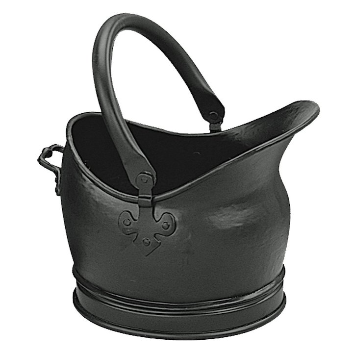 Manor Salisbury Coal Bucket - Black