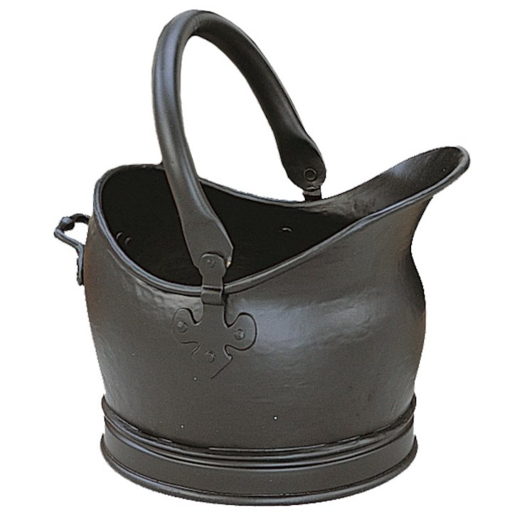 Manor Cathedral Small Coal Bucket - Black