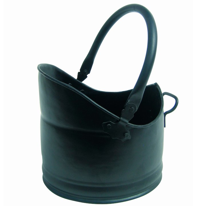 Manor Clandon Coal Bucket - Black