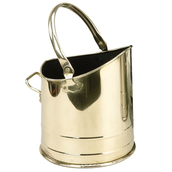 Manor Flanders Coal Bucket - Brass