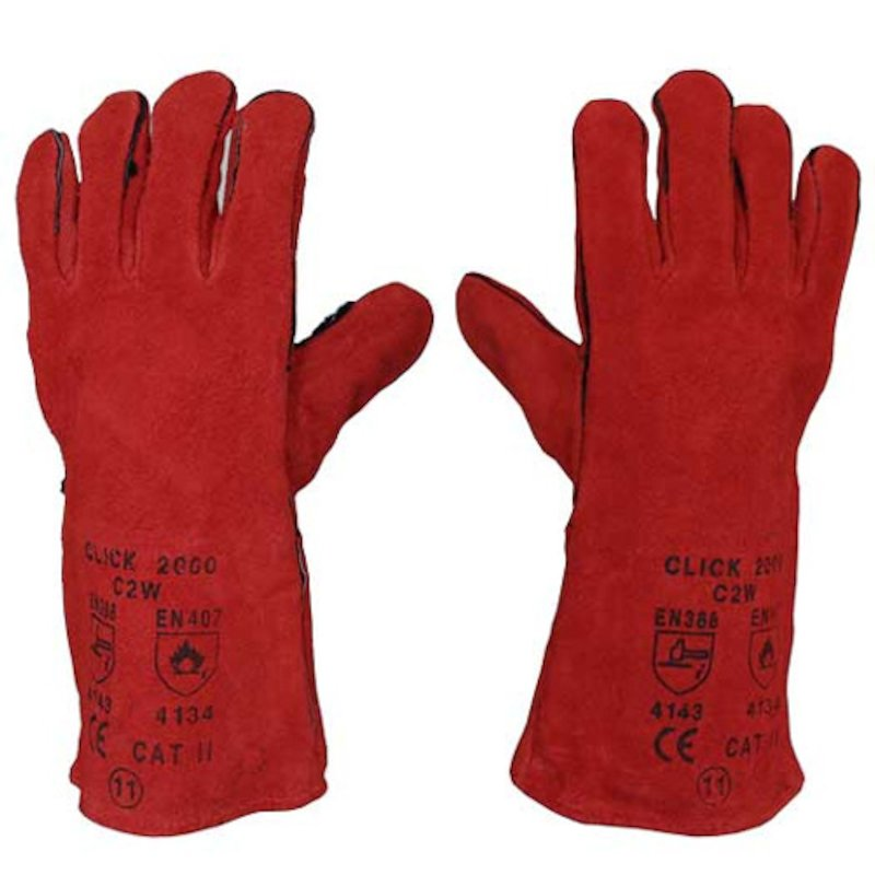 Calfire Heat Resistant Gloves (Pair) - Red