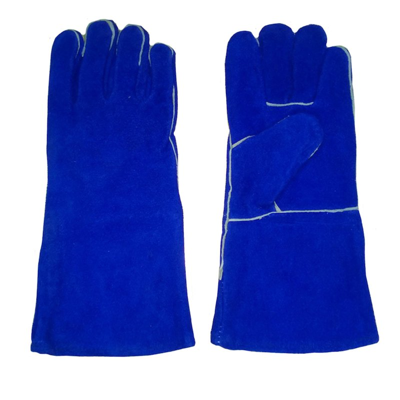 Dunsley Heat Resistant Gloves - Extra Long (Pair) - Blue Nights