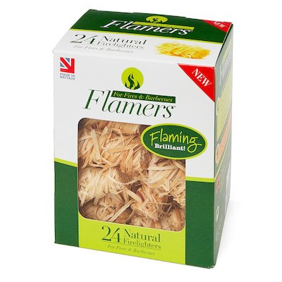 Certainly Wood Flamers Whisp Firelighters Wood Small