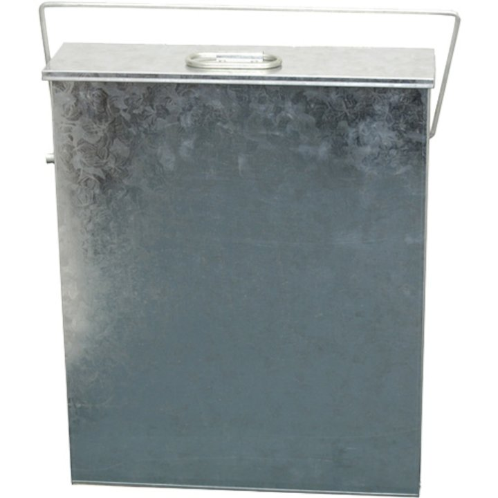 Calfire Room Heater Ash Carrier With Handle - Galvanised