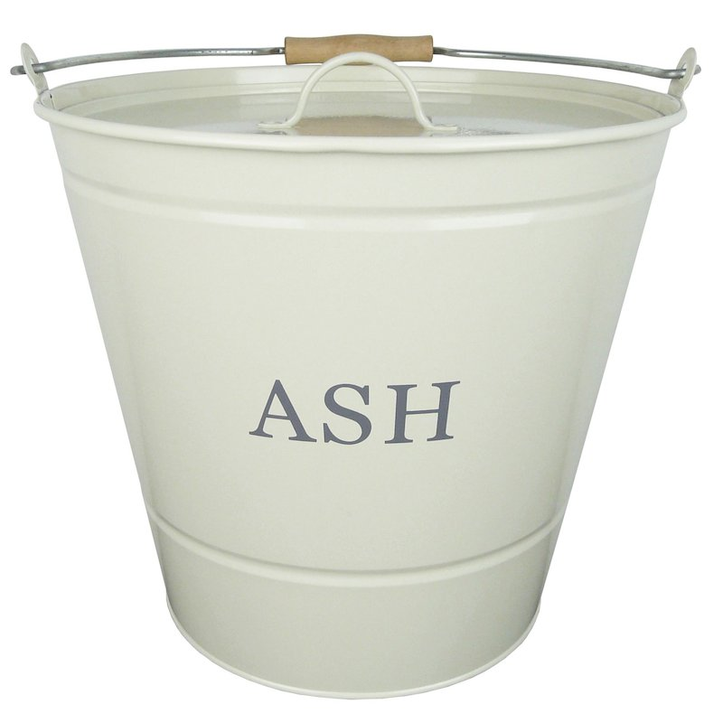 Manor Ash Bucket - With Lid - Cream