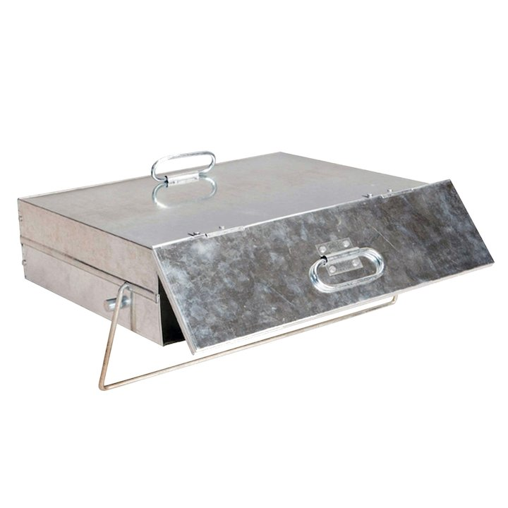 Manor Ash Carrier With Handle - Galvanised